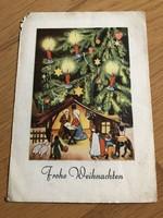 Kellemes karácsonyi ünnepeket - 1948 -as képeslap