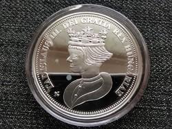Királyi Koronák Utánveretben III. László 5 korona .999 ezüst PP (id23504)
