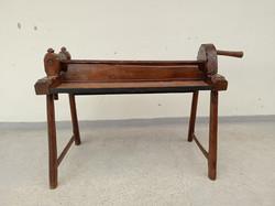 Antik faragott fa kendertörő kender törő eszköz népi szerszám Erdély népművészet néprajz  4320