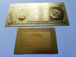 Aranyozott 10 forint 1946