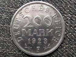 Németország Weimari Köztársaság (1919-1933) 200 Márka 1923 F (id43912)