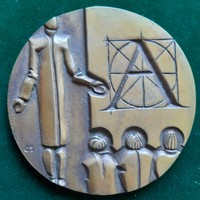 Csíkszentmihályi Róbert: Pedagógus, bronz érem (1972)
