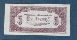 1944 5 Pengő EF