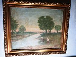 Antik szignál festmény 338