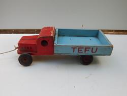 Tefu Fa Játék Autó.