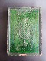 Antik 1892 cserépkályha kályhacsempe - EP