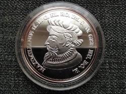Királyi Koronák Utánveretben II. Miksa 5 korona .999 ezüst PP (id23435)