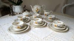 Gyönyörű,antik,Bavaria Schumann teás-kávés,reggelizőkészlet