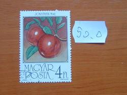 MAGYAR POSTA 4 FORINT 1986 Gyümölcs 50.O