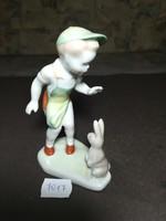 Aquincumi porcelán fiú
