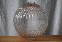 Lámpabúra bütykös üveg gömb 26,5 cm ø