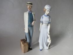 Royal Dux porcelán pár