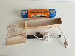 Retro régi új hajsütővas 1975 elektromos hajsütő vas fodrász szerszám Kiváló Árúk Fóruma