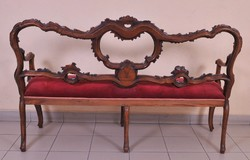 Velencei barokk kanapé a 18.századból