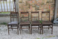 Szép formájú, keményfa székek, modern