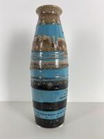 Teljes hagyaték aukción! Nagy méretű iparművészeti váza. Gyönyörű 1 Ft-ról!