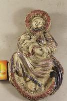 Petrás Mária mázas kerámia szobor 715