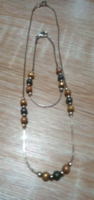 New! Marked silver jewelry set + gift silver earrings