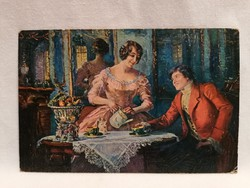 1918 képeslap