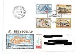 Pannóniai Mozaikok, bélyeg sorozat első napi borítékon 1978.