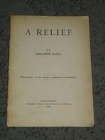 Alexander Magda: A relief