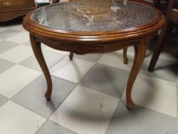 Barokk dohányzóasztal