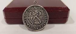 Takács Céhek címere 1816 ezüst medál