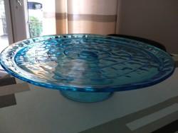 Kézi készítésű muránói talpas asztalközép