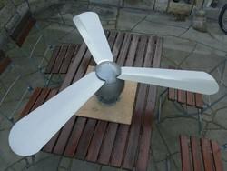 Heinke Német plafon / mennyezeti ventilátor Különleges Komoly Darab  retro design ipari