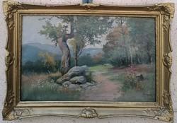 Zorkóczy Gyula : (1873-1932) Tájkép