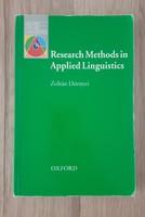 Dörnyei Zoltán : Research Methods in Applied