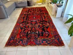 Iráni novahand kézi gyapjú perzsa szőnyeg 155x318 ingyen posta KZM_449