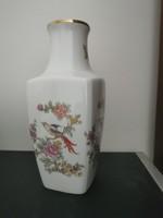 Paradicsom madaras Hollóházi porcelán váza