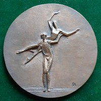 Czinder Antal: Balett 1979, bronz érem