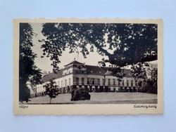 Régi képeslap Pápa Eszterházy kastély levelezőlap