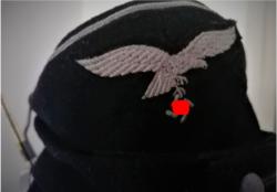 Német Luftwaffe Páncélos sapka