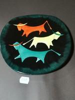 Bodrogkeresztúri Art deco tányér