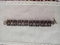 Vintage réz karkötő,szép kézműves munka