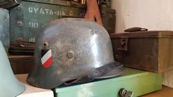 Német rohamsisak, II.vh-s Wehrmacht, Gyönyörű!