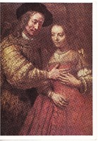 Képeslap /  Rembrandt Harmenszoon van Rijn festménye /
