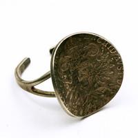 Mária Terézia SF Tallér 1780 érme mintájára készült gyűrű