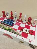 Csodás kínai festésű sakk keszlet