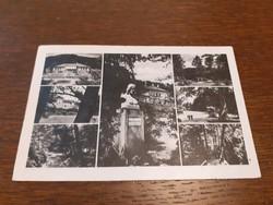 Régi képeslap 1944 Parád gyógyfürdő levelezőlap