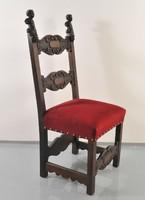 18.századi antik Olasz barokk szék
