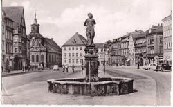 Németország  / BAYREUTH / képeslap bélyeggel