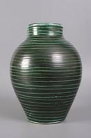 Retró csíkos váza