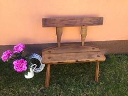 Boroshordóból készült pad eladó Kecskeméten