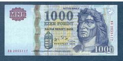2006 1000 Forint DB sorozat EF +