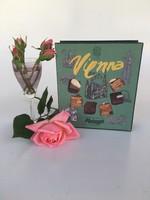 Vienna Metzger papír, karton doboz, csokoládé doboz