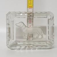 Tacskós üveg hamutál (1809)